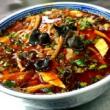 #西安小吃培训#东北大馅的饺子,还必须是猪肉酸菜的[偷笑]这很东北啊[呲牙]皮薄馅多,十足过瘾
