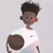 #篮球#面对加索尔,易建联的防守到底有多强硬,慢动作的那一刻感动了无数球迷!