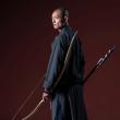 #少林功夫#谁说舞剑的只有侠士?少林功夫也能舞出潇洒的招式!