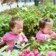 #双胞胎#奶奶您好,我爱您!我祝您天天开开心心的,您能为我点个赞吗