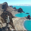 #我的私藏景点#如果你想看拖尾沙滩,不用再去马尔代夫了,来电影《左耳》拍摄地东山岛吧