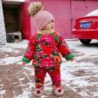 #家有萌娃#就想问问各位宝妈有没有同款宝宝,睡觉从来不盖被子了的.一年四季要穿各种睡袋😤