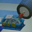 皮带传动滚筒输送机原理仿真机械原理 自动化